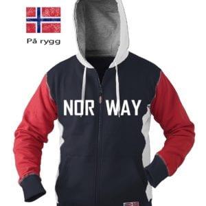 Norway hettejakke