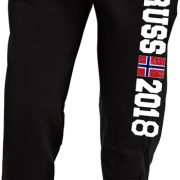 Joggebukse sort norway russ 2018