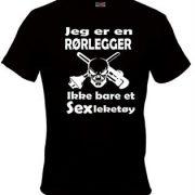 rorlegger-t-shirt-tskjorte-morsomme-trykk-patriot1-sarpsborg-norge