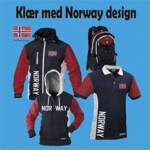 Klær med Norway profilering